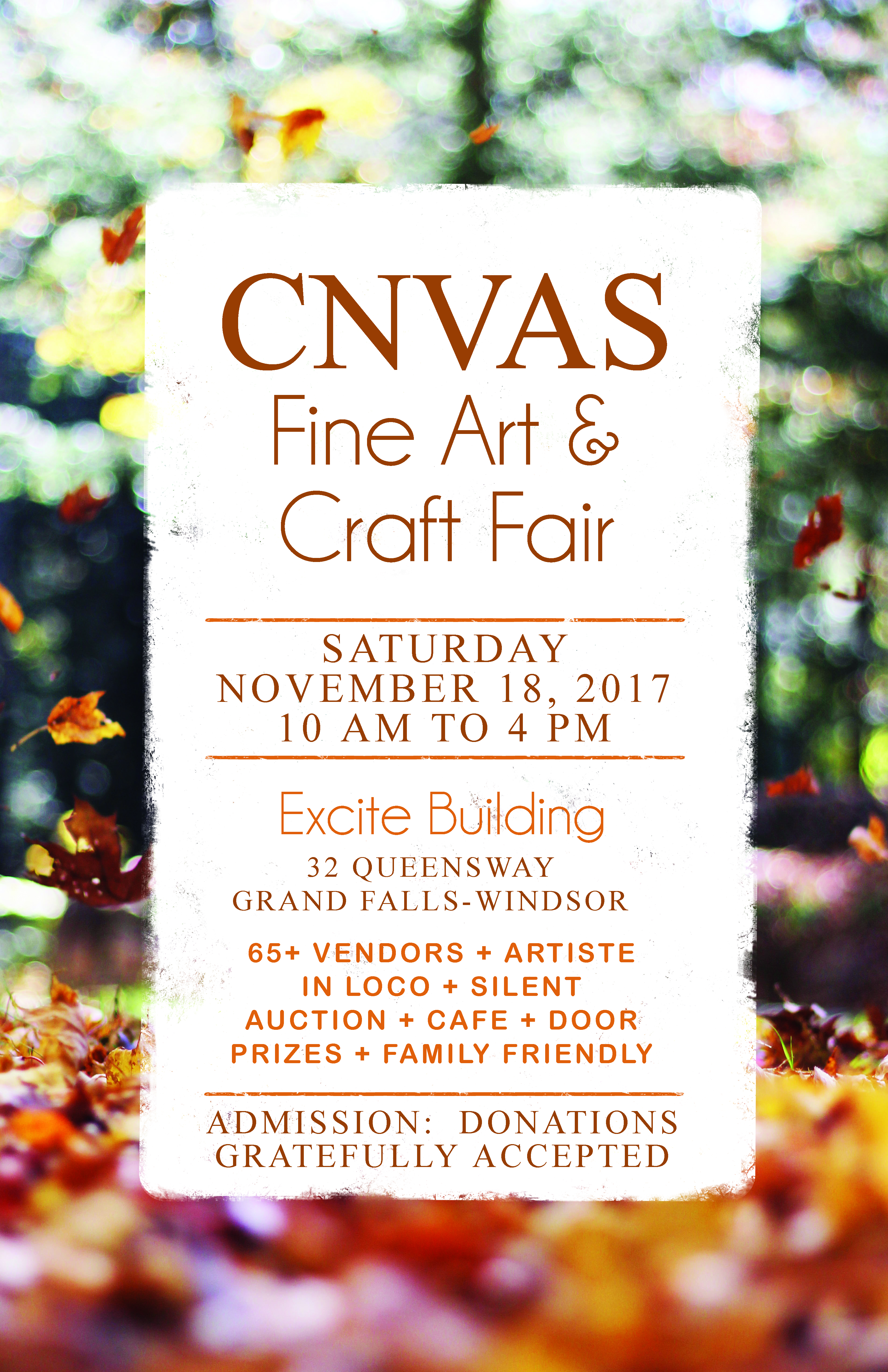 CNVAS Fall Fair 2017 Announcement