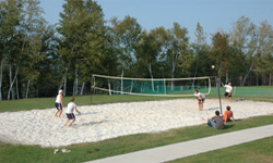 Outdoor Beach Volleyball Courts