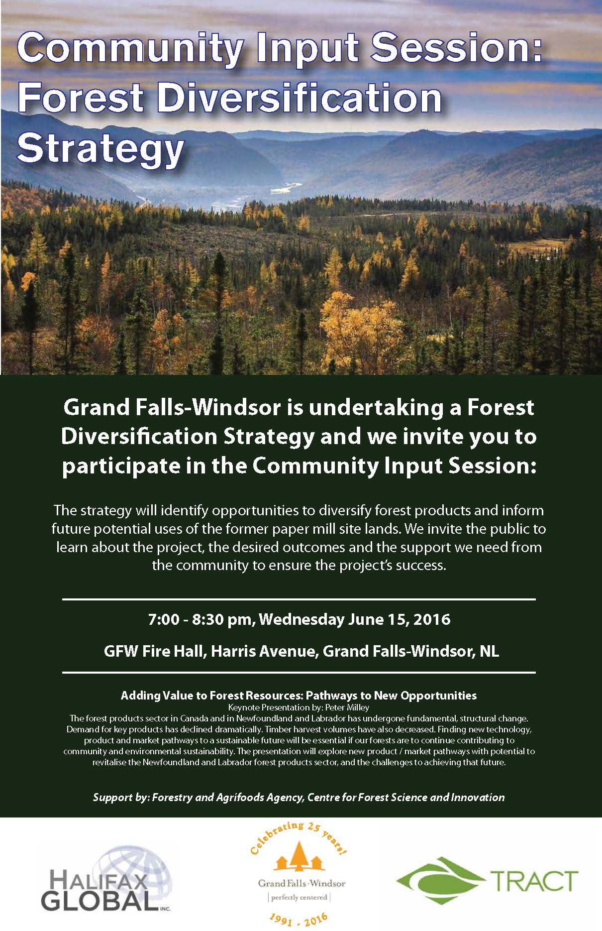 Community Input Session Forest Diversification Strategy June 152016