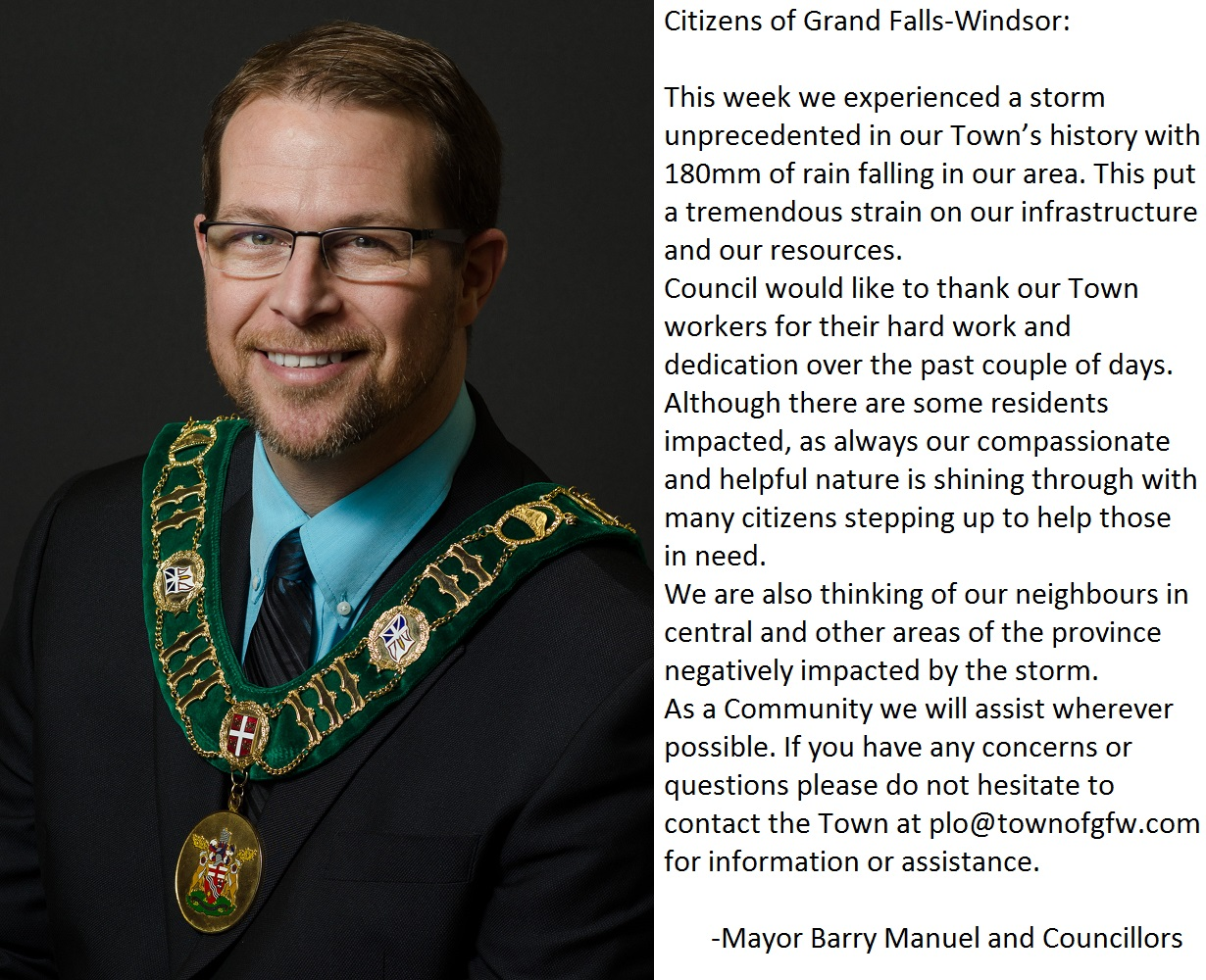 Message from Mayor and Councillors