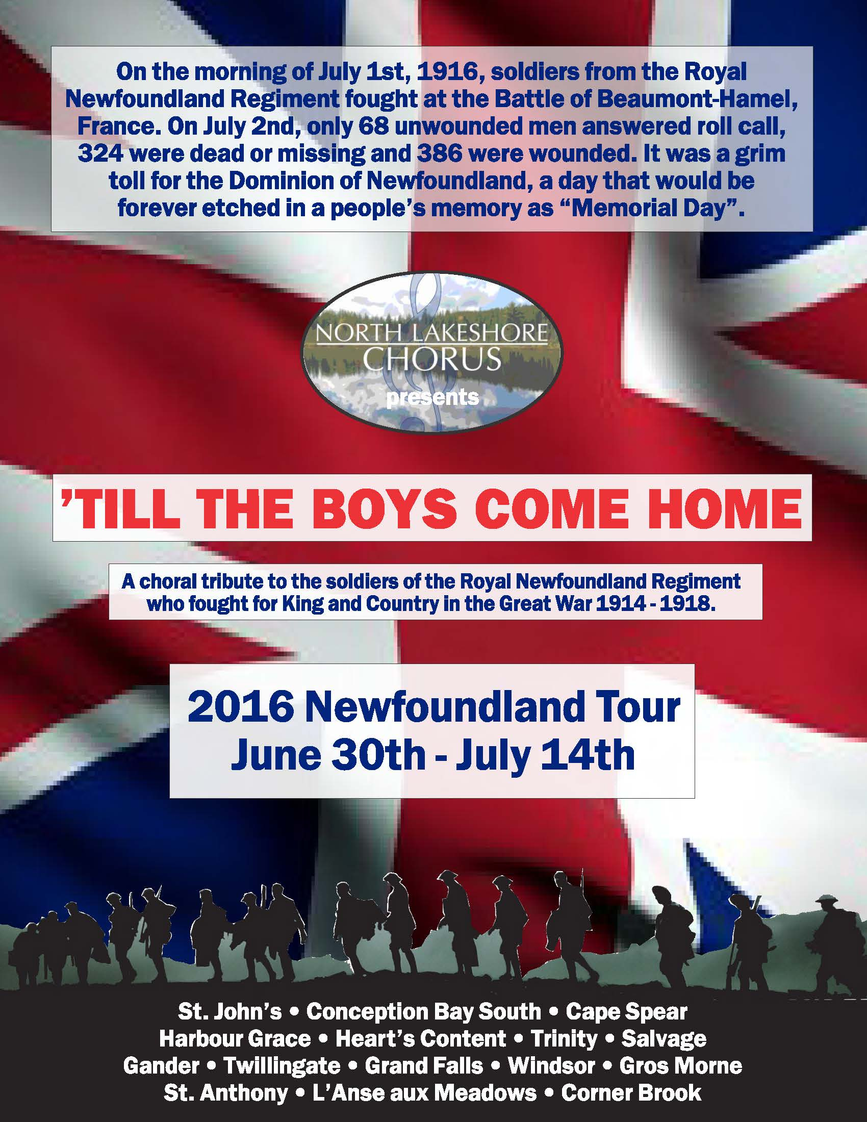 nfld tour poster